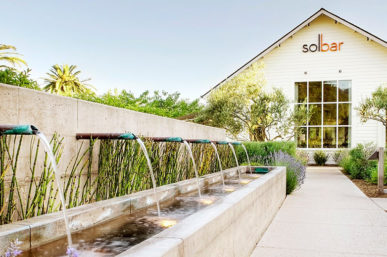 Dinner at Solage, An Auberge Resort's SolBar with Calistoga WineGrowers