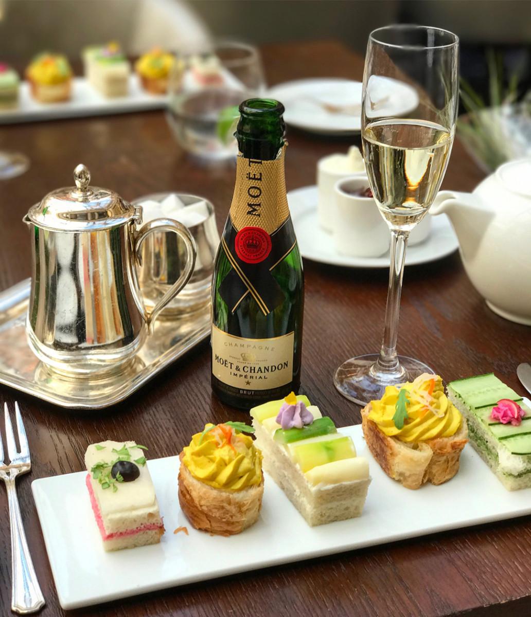 Tea at The Palace Hotel San Francisc