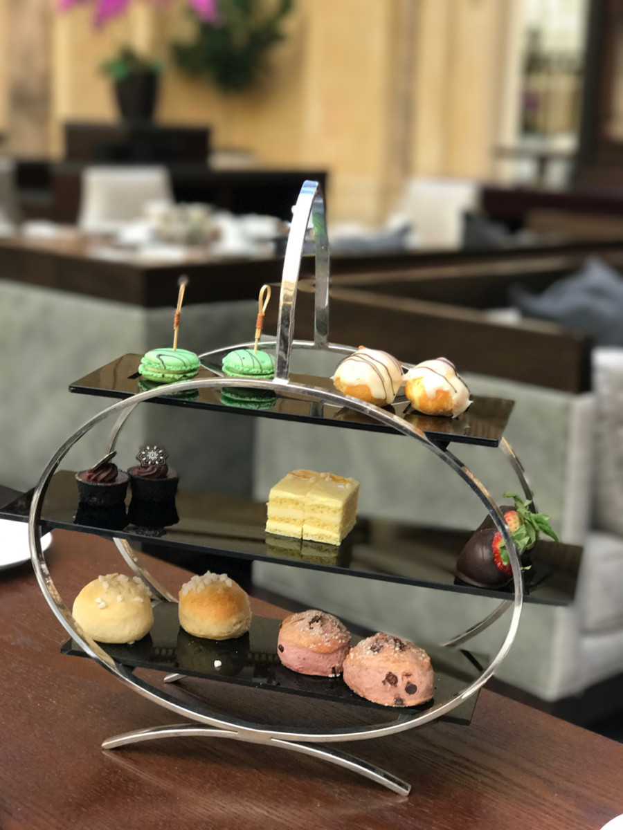 Afternoon Tea At Palace Hotel The Jetsetting Fashionista