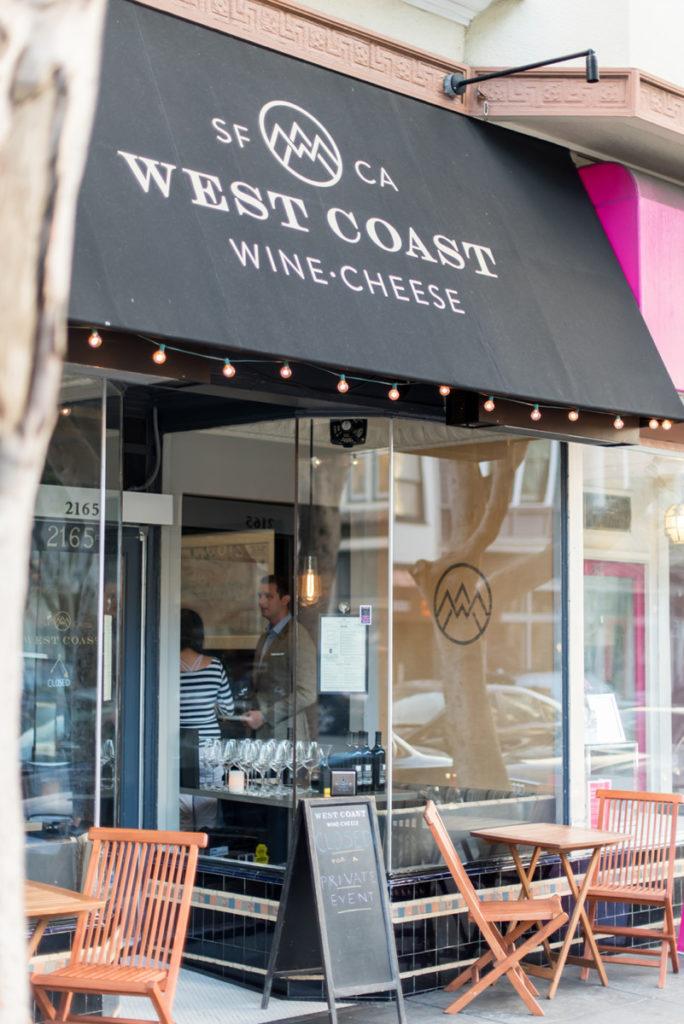 West Coast Wine Cheese San Francisco