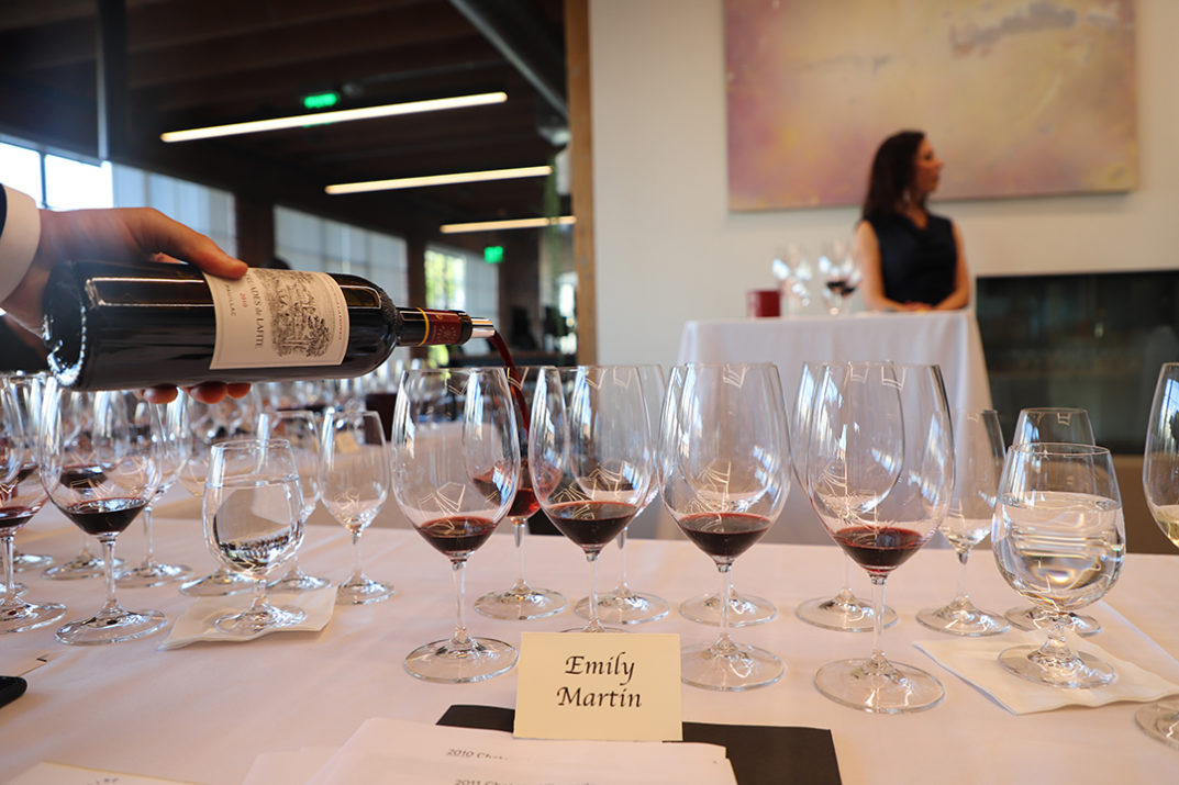 Wine Access Chateau Rothschild Tasting