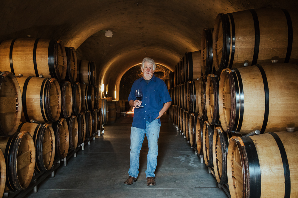 Winemaker Tom Eddy of Tom Eddy Winery
