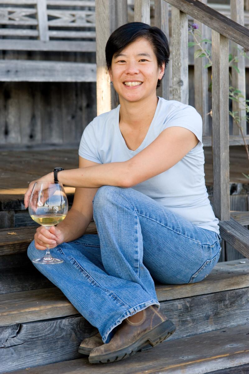 Winemaker Vanessa Wong