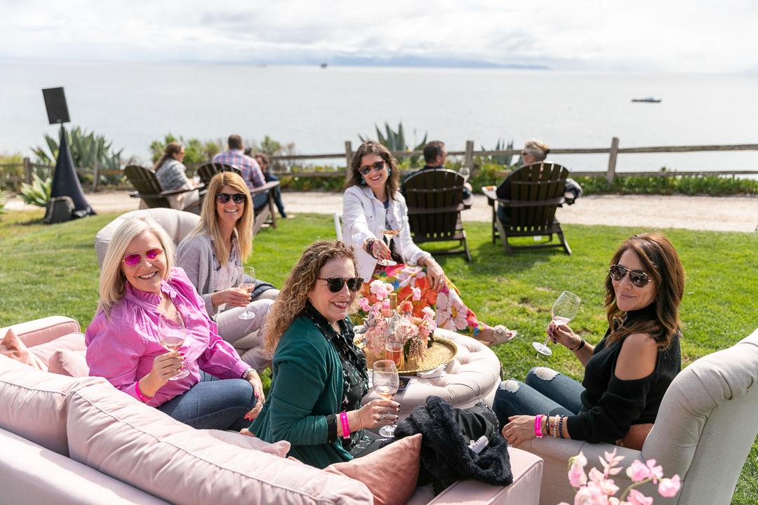Rosé Lawn Party