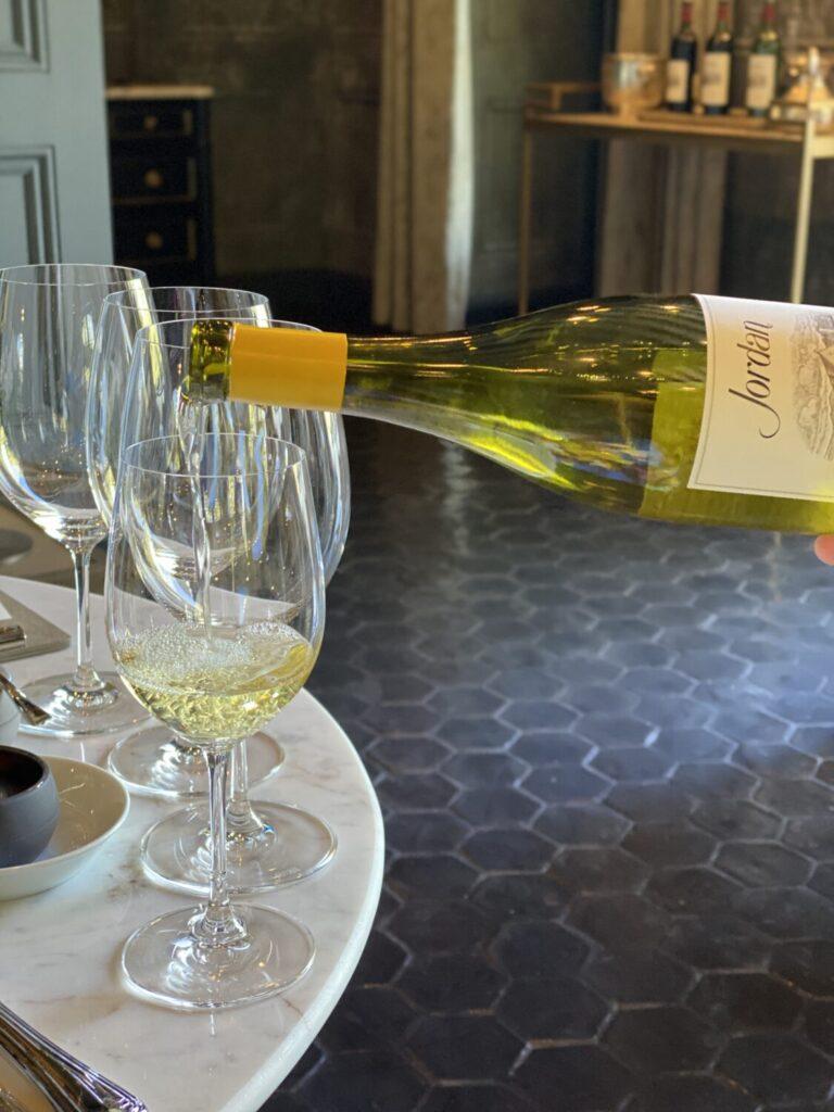 Jordan Winery Library Tasting